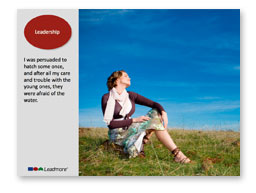 powerpoint leadmore
