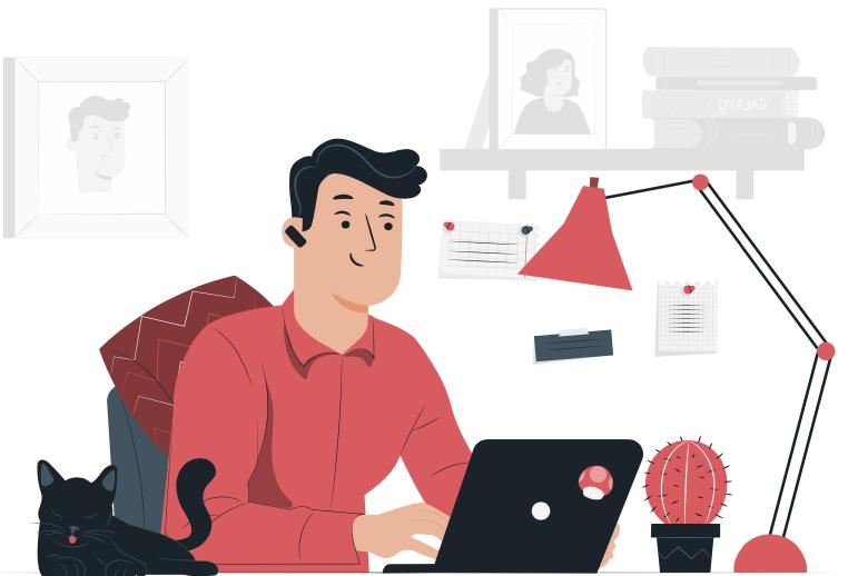 Når afstanden til kontoret er 5 meter: Tips til hjemmearbejdspladsen